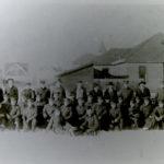 Image of the people at Joe Gane's Christening