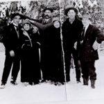 Group photo of Sam Larson, Pete Rock et al.