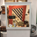 Image of flag display cabinet